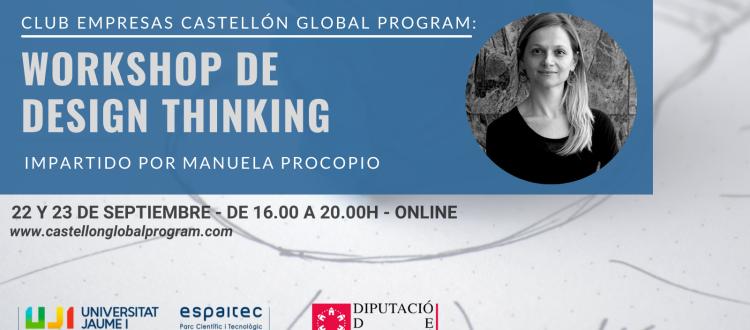 Design Thinking Club Empresas Castellón Global Program